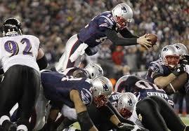 Brady quarterback sneak