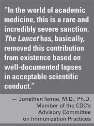 Lancet autism retraction